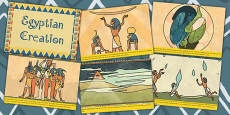 Ancient Egyptian Creation Story Cards