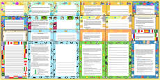 P Scale Ideas for Tracking Progress P4 to P8 Activity Pack