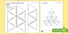 Hitler Consolidates Power History Triangular Dominoes