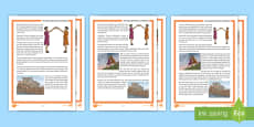 The Story of Romulus and Remus Differentiated Differentiated Reading Comprehension Activity