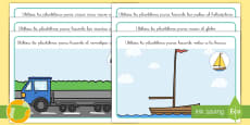 Tapiz de plastilina: El transporte