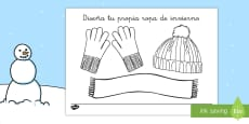 Diseña la ropa ropa invernal