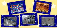 European Elections Display Photos