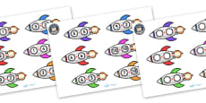Space Rocket Addition Activity Sheets