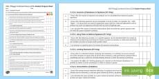 AQA (Trilogy) Unit 5.3 Quantitative Chemistry Student Progress Sheet
