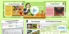 PlanIt - Science Year 6 - Living Things and Their Habitats Lesson 1: Classifying Conundrums Lesson Pack
