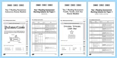 Year 1 Reading Assessment Term 3 Paper 1