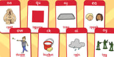 Active Literacy Phonics Programme Stage 2 Flashcards