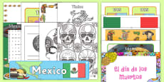 Mexico Celebration Resource Pack
