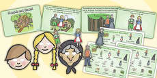 Hansel and Gretel Story Sack Resource Pack