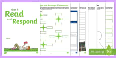 * NEW * Year 6 Read and Respond Activity Pack