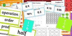 KS3 Maths Fractions Catch Up Resource Pack