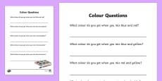 Colour Questions
