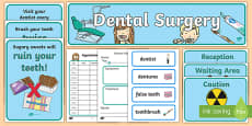Dentists/Dental Surgery Role Play Pack