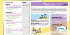 History: The Indus Valley Civilisation UKS2 Planning Overview