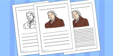Edward Jenner Writing Frame