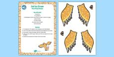 Owl Ice Cream Cloud Dough Recipe to Support Teaching on The Gruffalo