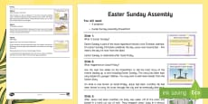 Easter Sunday Assembly Script