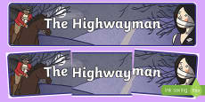 The Highwayman Display Banner