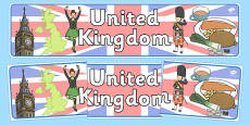 United Kingdom Display Banner