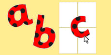 Editable Paper Saving Red with Black Spots Display Alphabet Numbers and Symbols