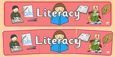 Literacy Banner