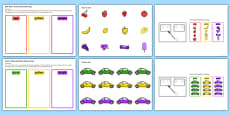 Colour Sorting Activity - Set 4