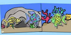 Story Cut Outs to Support Teaching on The Rainbow Fish