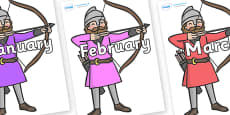 Months of the Year on Archers