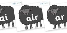 Phase 3 Phonemes on Baa Baa Black Sheep