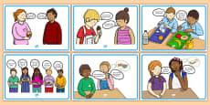 Food Conversation Display Posters Gaeilge