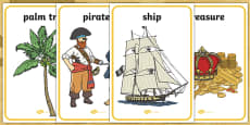 Pirates Topic Display Posters