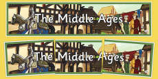 Middle Ages Display Banner