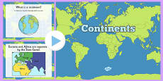 What Is a Continent? PowerPoint