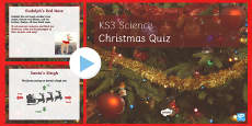 KS4 Science Quiz Christmas Resources PowerPoint