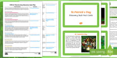 EYFS St. Patrick's Day Discovery Sack Plan and Resource Pack
