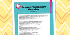2014 Curriculum KS2 Design and Technology Overview