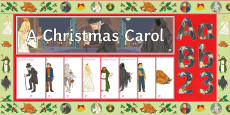 * NEW * A Christmas Carol Display Pack
