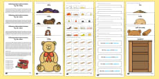 Two ICW Toy Box Activity Sheet