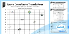 PlanIt Y4 Position and Direction Translations Home Learning Tasks