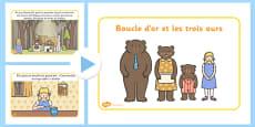 Goldilocks Story PowerPoint French