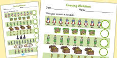 Hansel and Gretel Counting Sheet