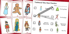 Traditional Tales Hunt Activity Pack