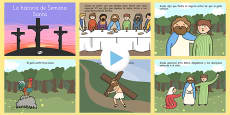 The Easter Story PowerPoint Spanish