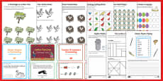 Twelve Days of Christmas Maths Activity Pack