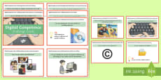 Digital Competence Year 4 Challenge Cards