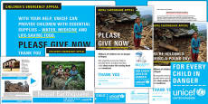 Unicef Nepal Earthquake Bring a Pound Day Resource Pack