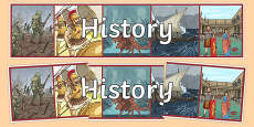 History Display Banner
