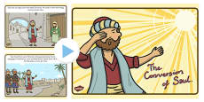 The Conversion of Saul PowerPoint