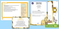 Safari Small World Play Idea and Printable Resource Pack